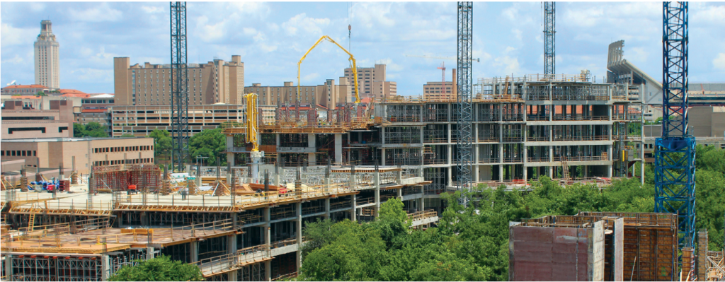 Austin's Medical District under construction